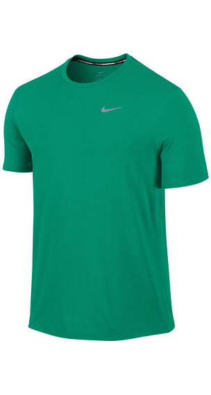 Nike Dri-FIT Contour SS Shirt Men teal charge/reflective silver